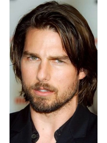 Tom Cruise Full Lace Short Remy Human Hair Wig