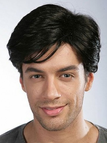 23b831b2c Short Full Lace Remy Human Hair Mens Wig, Mens Wigs And Hairpieces | P4