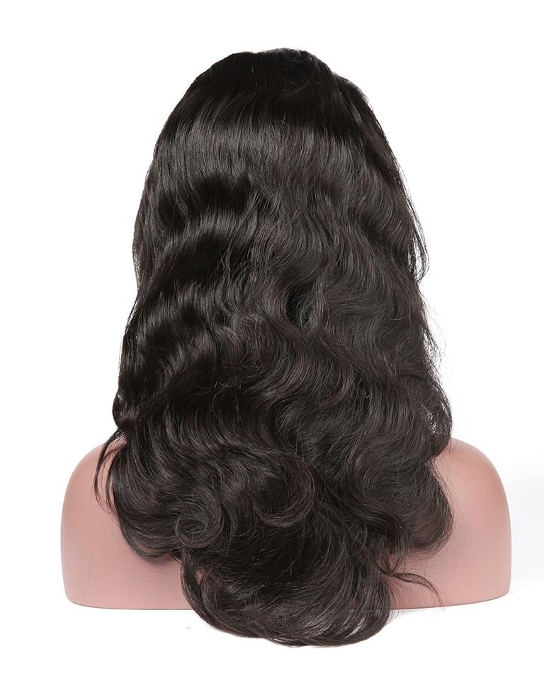 Full Lace Human Hair Wigs Body Wave Brazilian Remy Hair