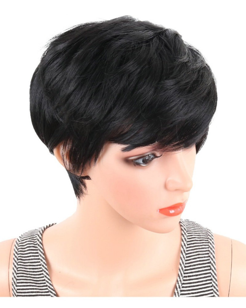 pixie haircut wigs synthetic wigs pixie cut hair wig 5341