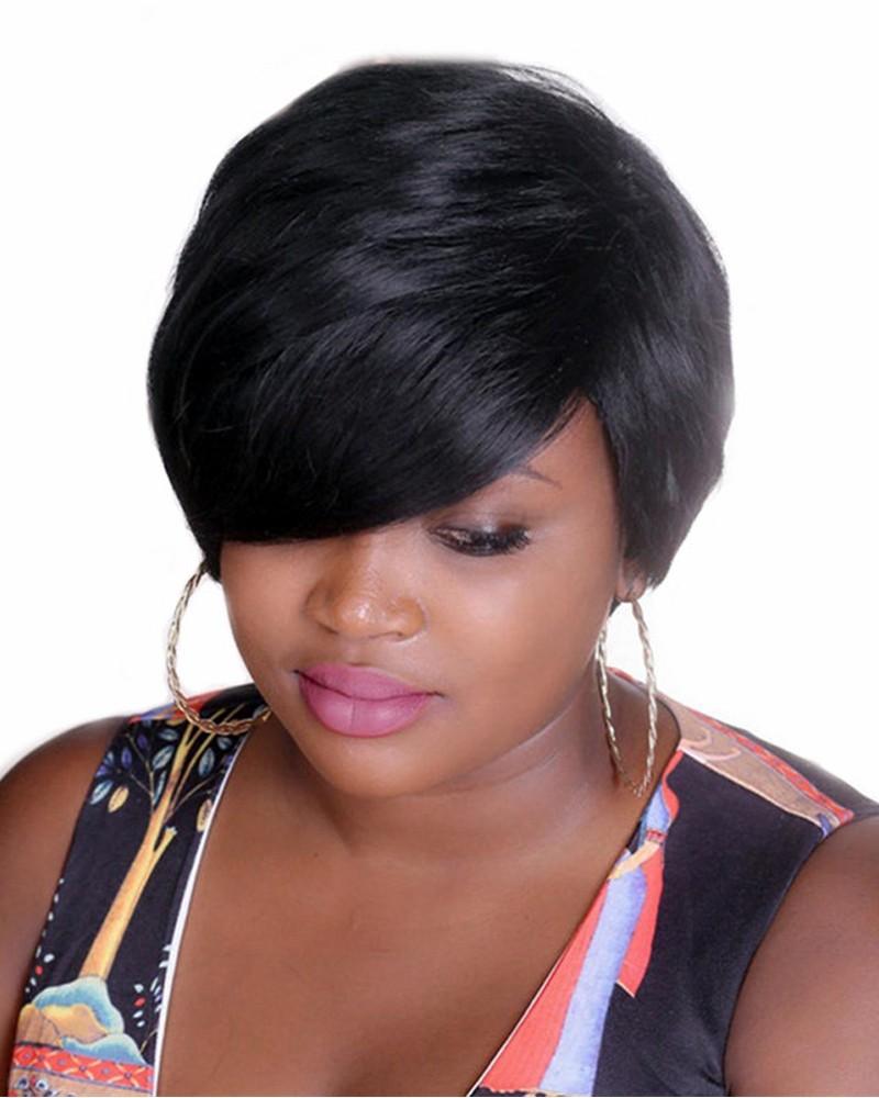 Bobo Style Short Wigs for Black Women Heat
