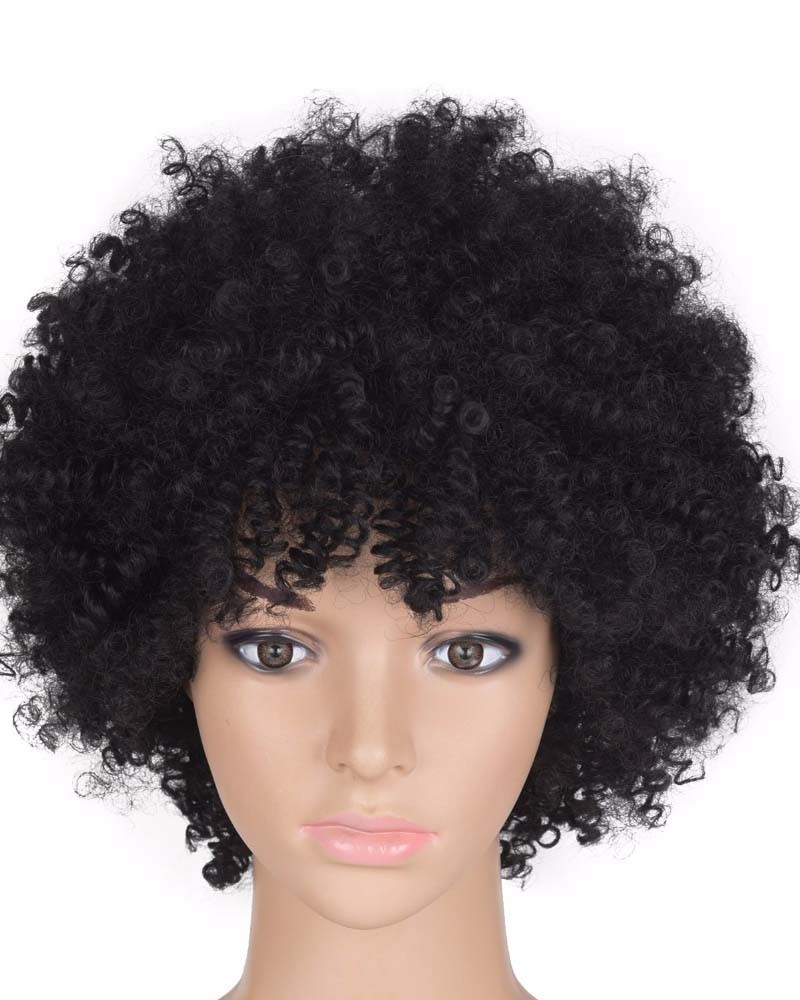 Kinky Curly wigs synthetic short wig Havana Mambo Twist Hair for ... 435b0bec2