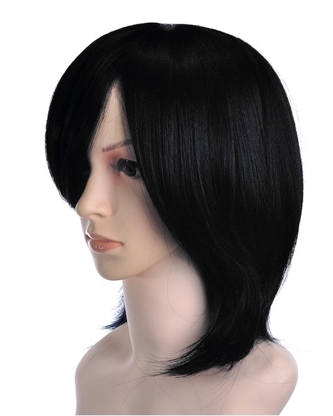 Civelt Short Black Wig Cosplay, Kakashi Cosplay Wig | P4