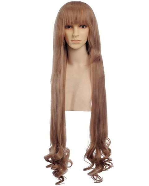 Erwin Long Brown Wig Cosplay, Discount Costume Wigs | P4