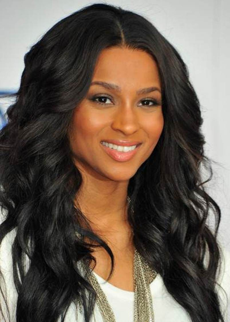 Beautiful Round Faces Long Curly Wig