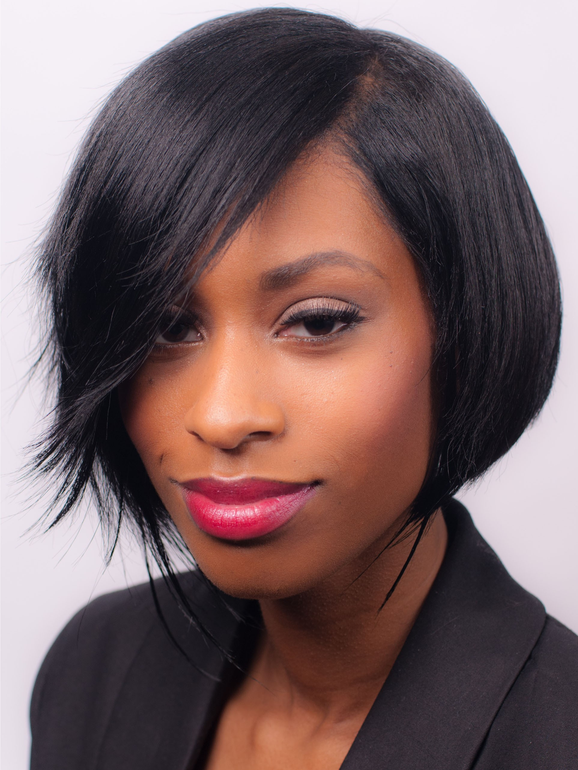 Short Lace Front Remy Human Hair Wig Best African