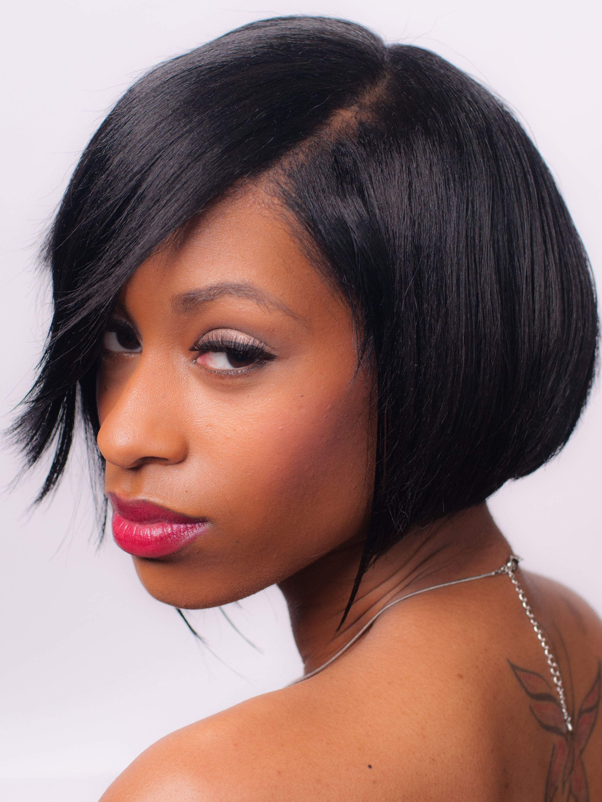 Short Lace Front Remy Human Hair Wig, Best African American Wigs