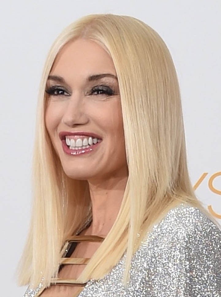 Gwen Stefani Straight Lace Front Synthetic Hair Wig Celebrity Wigs