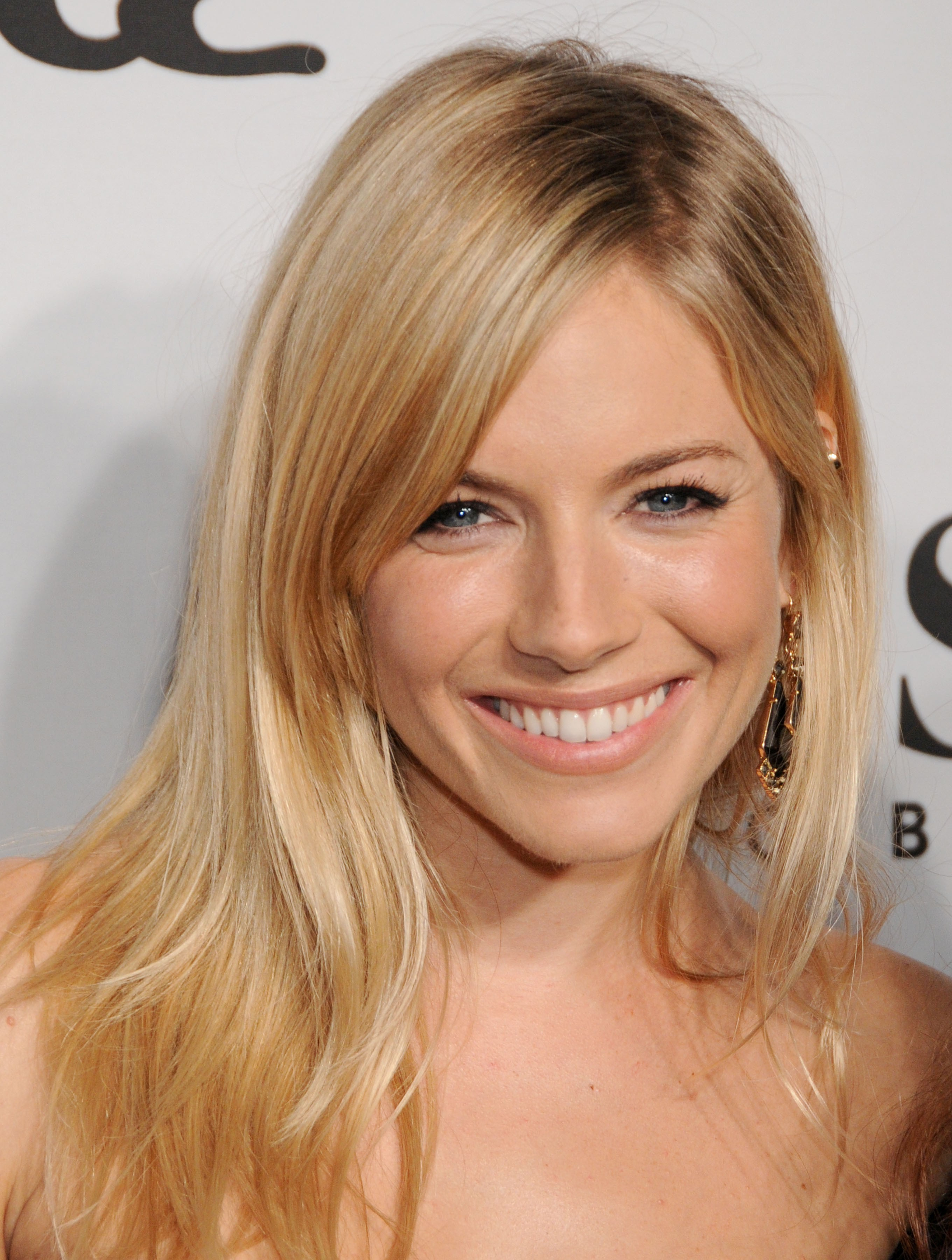 Sienna Miller Straight Full Lace Remy Human Hair Wig Celebrity Wigs