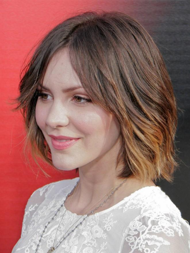 Medium Hairstyles Katharine Mcphee Wig Celebrity Wigs Sale