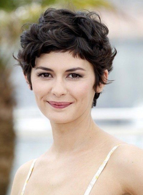 Cute Layered Short Pixie Cut for Thick Hair Wig