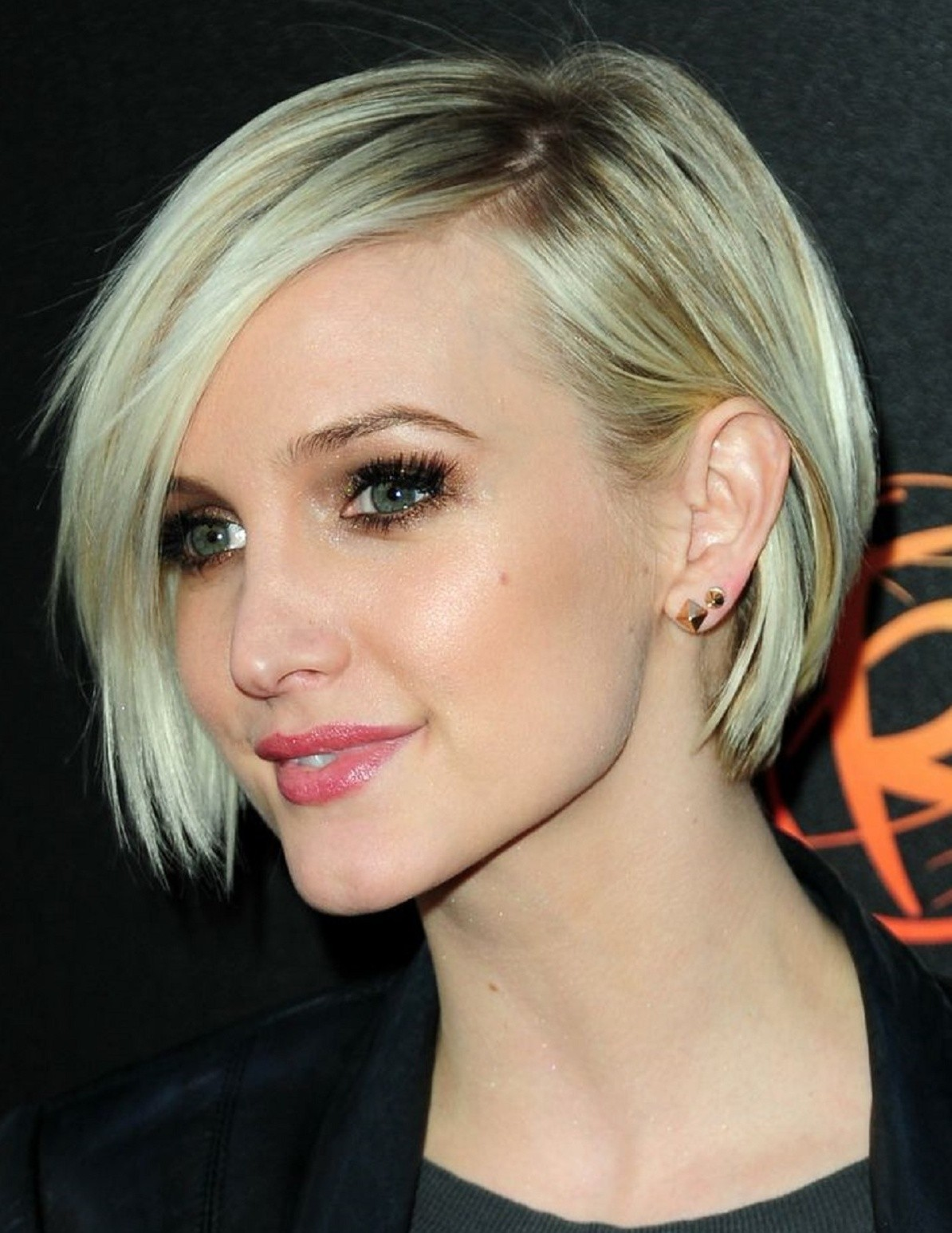 Ashlee simpson hairstyles fade haircut ashlee simpson lace front short synthetic bob wigs ashlee simpson urmus Gallery