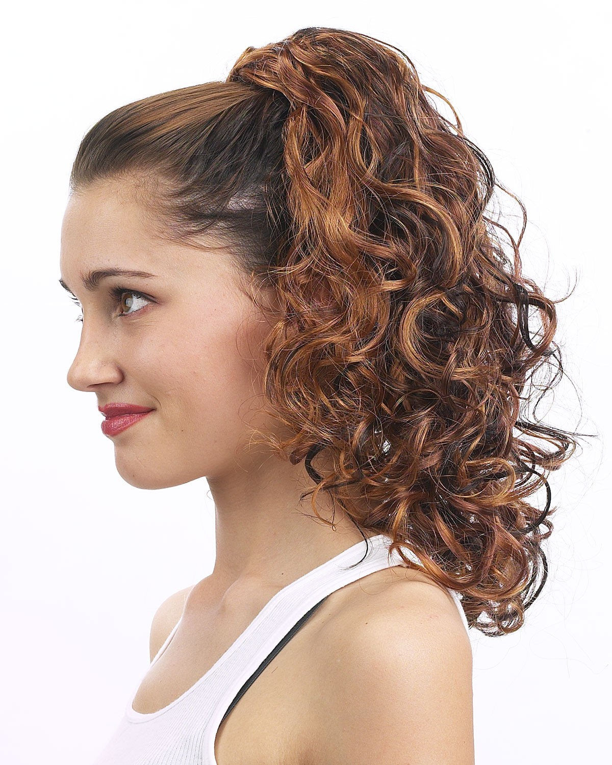 Medium String Fall Synthetic Ponytail, Ponytails Hair Pieces