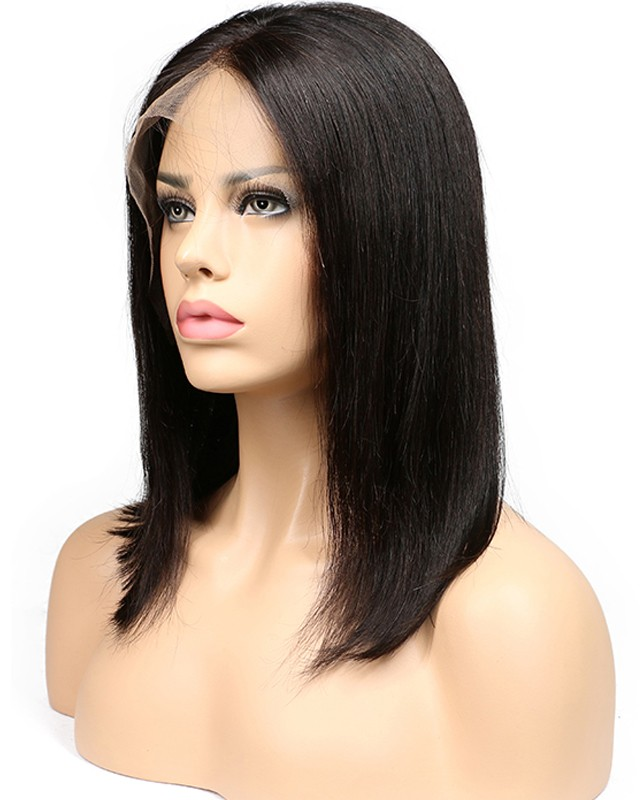 Straight Wigs for Black Women Human Hair Lace Front Wig  22d3fc79b4