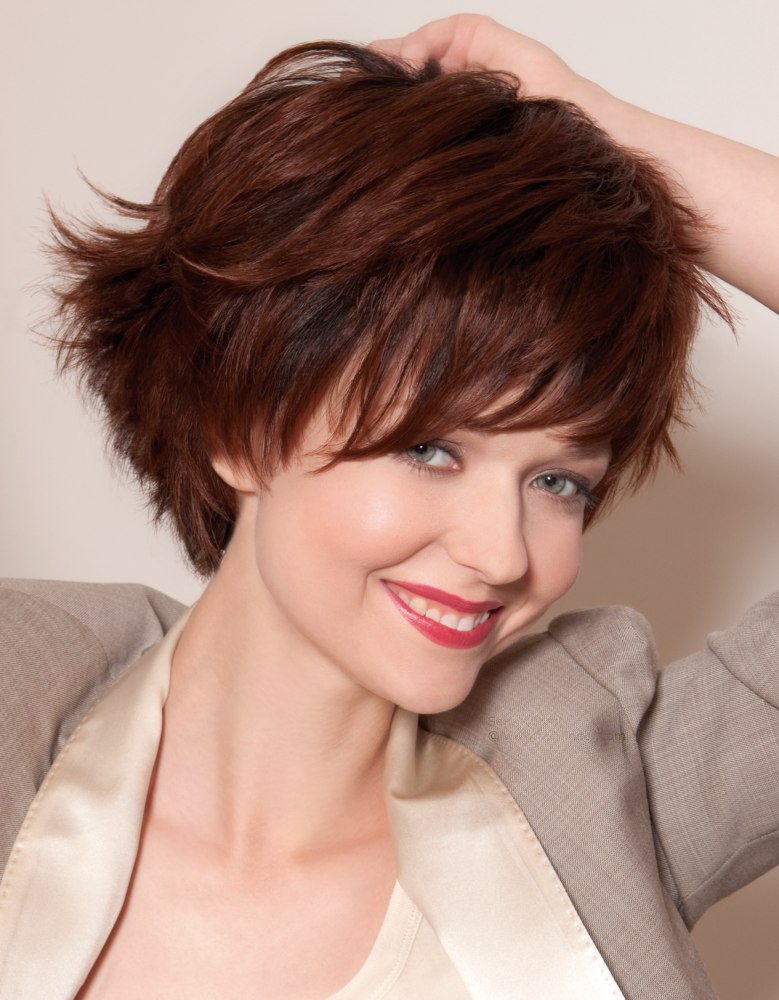Youthful Short Hair Wig