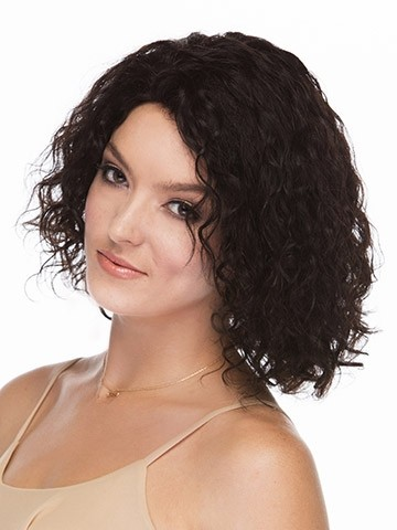 curly lace front wigs with black human hair short human