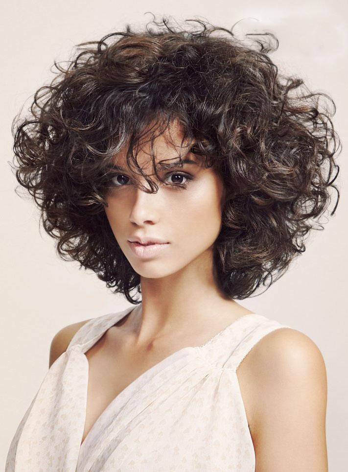 bab7263c9 Shoulder Length Curly Capless Synthetic Hair Wigs, short synthetic hair wigs  uk