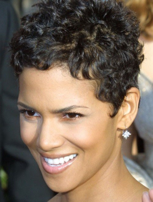 Halle Berry Curly Hairstyles 2015 Wig