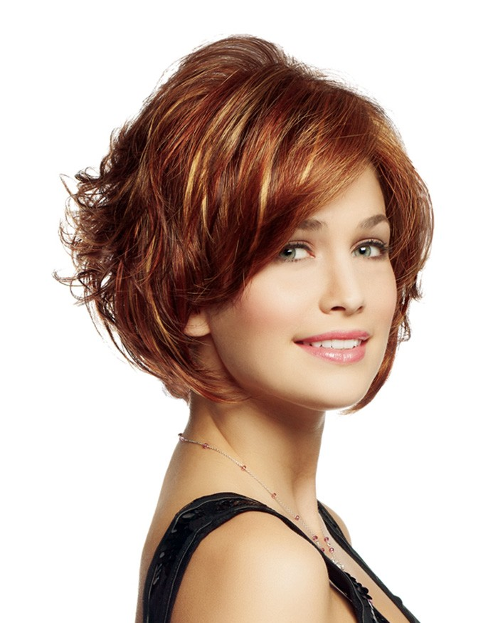 Curly Bob Wig With A Tousled Finish Lace Front Wigs Houston P4