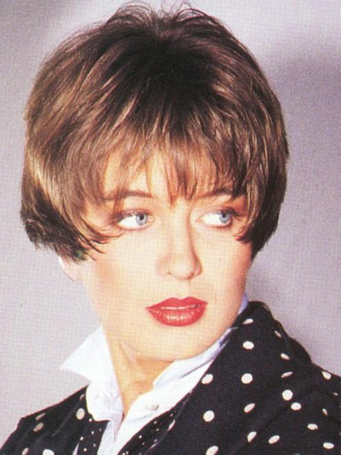 Short Eighties Hairstyle Short Eighties Wig Wonderful Synthetic Wigs Sale