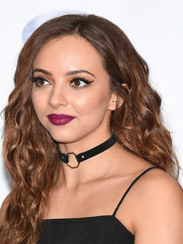 Jade Thirlwall Long Hairstyles Wavy Cut Wig, 2016 New Celebrity Wigs