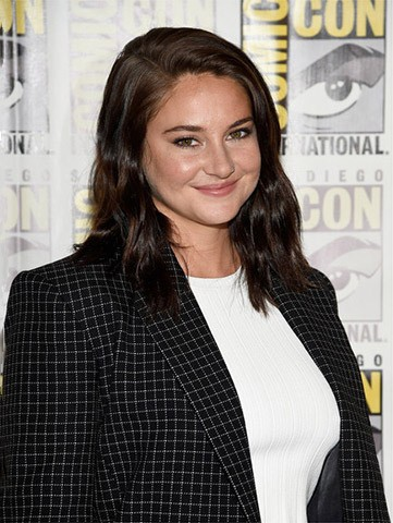 Shailene Woodley Shoulder Length Hairstyles Wig, 2016 New Celebrity Wigs