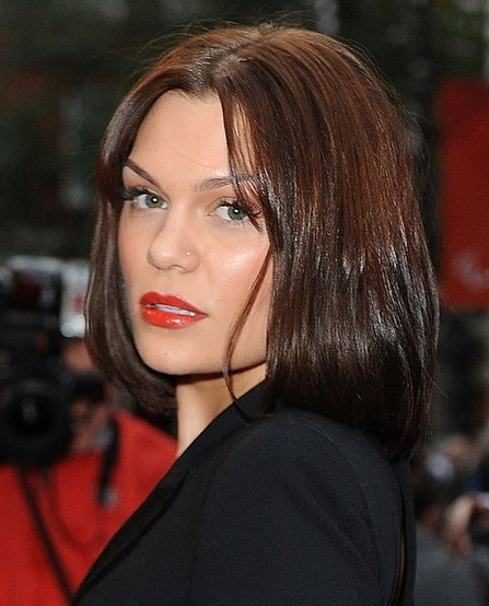 Jessie J Medium Brown Straight Womens , Lace Front Human ...