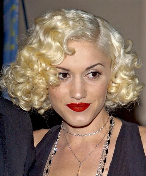 Gwen Stefani Medium Medium Curly Wig, Lace Front Wigs ... гвен стефани 2018