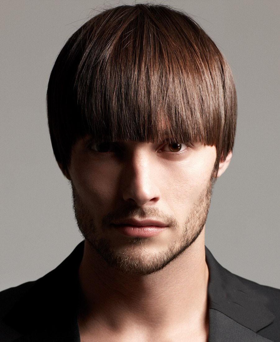 Bowl Cut Look For Men, Lace Men Wigs