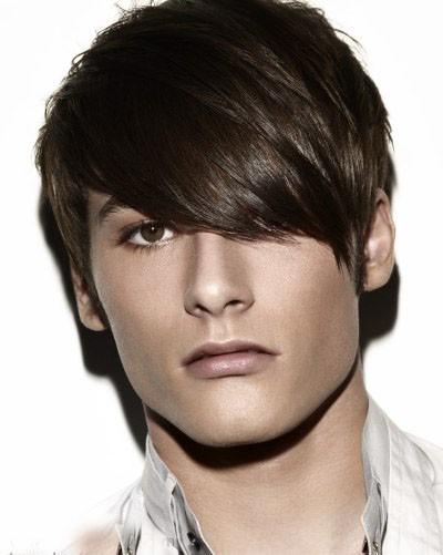 Long Bangs Wig In Short Men S Haircut Dyeing Synthetic Wigs P4