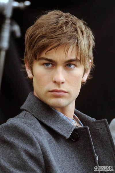 Chace Crawford Natural Straight Wigs Mens Hair Wigs