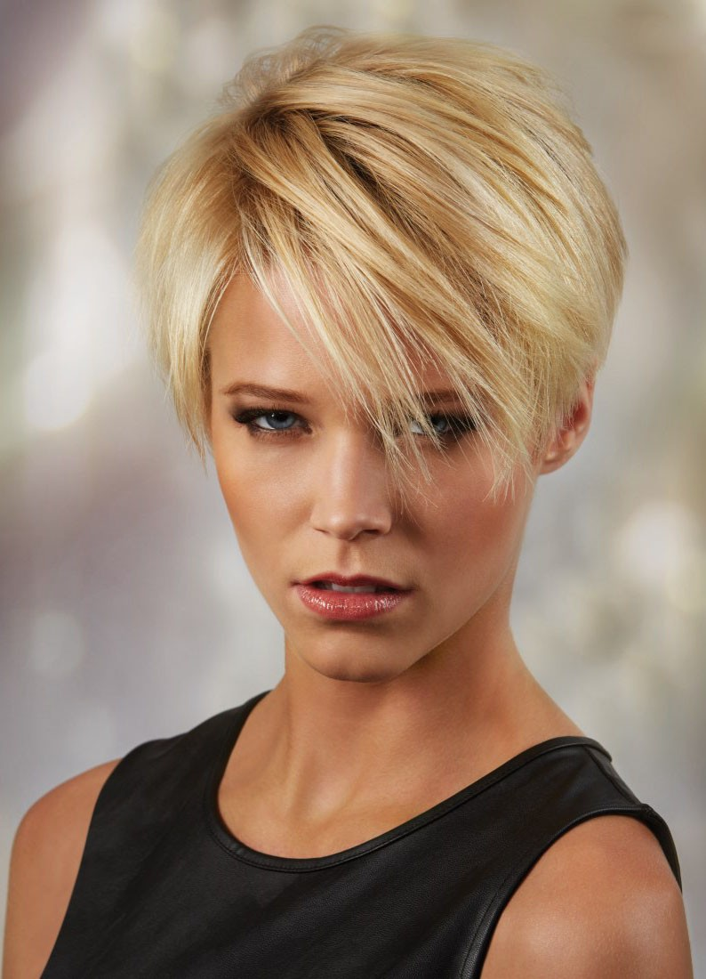 synthetic hair straight short blonde wig short hair wigs p4. Black Bedroom Furniture Sets. Home Design Ideas