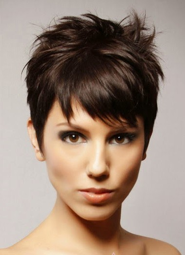 Synthetic Hair Boy Cut Straight Wigs 34214d60b4