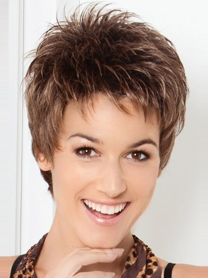 pixie haircut wig pixie cut spiky style synthetic wig wigs p4 4270