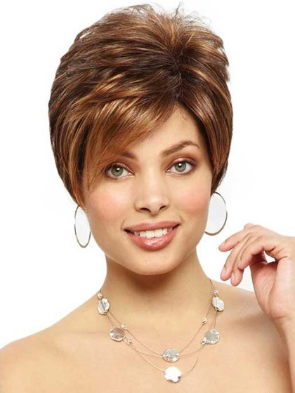 Short Edgy Cut Lace Front Cropped Wig 38271b2ba0