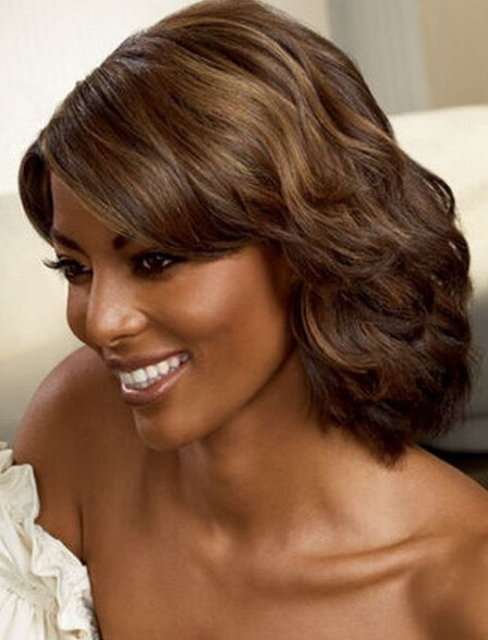 Top Brands Final Clearanc Medium Length Wigs African American 64 Off Gdctral Ac In