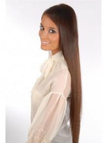 Clip in hair extensions cheap human hair wigs remy hair 24 inches full head 6 pcs clip in human hair extensions pmusecretfo Gallery