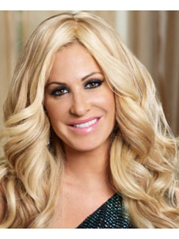 Kim Zolciak Blonde Lady Wig Lace Front Wigs Synthetic