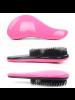 2015 Fashion Detangling Handle Tangle Shower Hair Brush Comb Pink